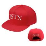 Red JSTN Hat