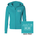 The 20/20 Experience World Tour Teal Jrs Hoodie