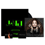 "Janet Jackson CD + ""No Sleeep"" Vinyl Single + 3 Instant Downloads"