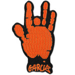 Jerry Garcia Orange Hand Patch