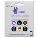 Jerry Garcia iPhone/iPad/iPod Touch Home Button Decals