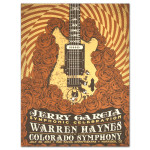 Jerry Garcia Symphonic Celebration featuring Warren Haynes Red Rocks Event Poster