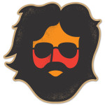Jerry Garcia Keystone Sticker