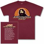 Jerry Garcia Band 1980 Tour T-Shirt