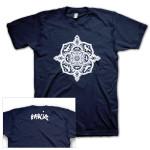 Jerry Garcia Mandala Men's T-Shirt