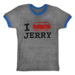 Jerry Garcia Bus Men's T-Shirt