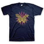 Jerry Garcia Symphonic Celebration Spring 2014 Tour Men's T-shirt (Navy)