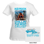 Kid Rock 2011 Cruise Photo Junior Tee