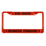 Kid Rock Redneck Paradise License Plate Cover