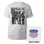 KISS 2012 US Tour Tee