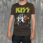 "KISS ""Nothin' To Lose"" Mens Crew Shirt"