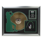 Solo Catman Collectible Framed Gold LP