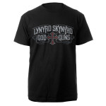 Lynyrd Skynyrd God & Guns Album Cover Tee
