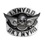 Skynyrd Skull & Cross Bone Buckle