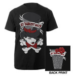 My Darkest Days Top Hat Tour Tee