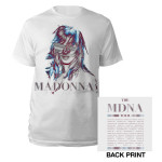 Madonna MDNA Sunglasses/Tour 2012 T-Shirt