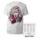 MDNA Red Glove/Tour 2012 Tee