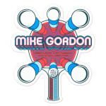 Mike Gordon Ping Pong Tour Sticker