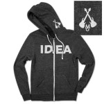 Mike Gordon IDEA Hoodie on Eco-Charcoal
