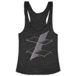 Women's Mike Gordon Points & Planes Tank on Tri-Onyx