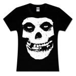 Misfits Large Skull Logo Women's Tee