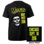Misfits Riotfest 2016 Tee