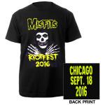 Misfits  2016 Riotfest Chicago Tee