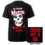 Misfits Riotfest 2016 Chicago Tee