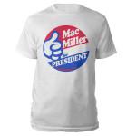 Mac Miller For President t-shirt