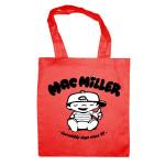 Mac Miller Red Tote Bag