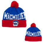 Mac Miller Blue/Red Beanie