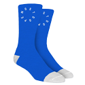 MOST DOPE BLUE SOCKS