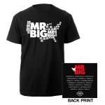 Mr. Big Black Tour Tee