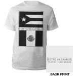 Cotto Vs. Canelo Flags T-shirt