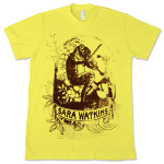 Frog with Fiddle Men's T-Shirt