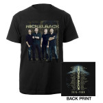 2015 Nickelback Band Photo Tour Tee