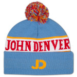 John Denver Custom Knit Hat w/ Pom Pom