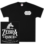 Black Zebra Ranch Tee