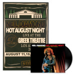 Hot August Night 40th Vinyl + Poster Bundle