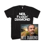 Neil Diamond Melody Road Fan T-Shirt Bundle