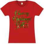 Cherry Christmas Y'all Women's Tee