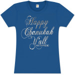 Happy Chanukah Y'all Women's Tee