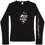 Diamondgirl Forever '05 Black Long Sleeve T-Shirt