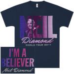 Neil Diamond I'm A Believer World Tour 2011 T-Shirt