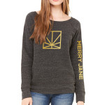 MERRY JANE Women's Charcoal Sweater
