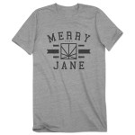 MERRY JANE Athletic T-Shirt - Grey