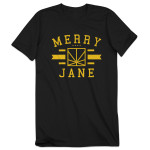 MERRY JANE Athletic T-Shirt - Black
