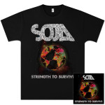 SOJA - Strength to Survive Album + T-Shirt Bundle (Men's $21.00 - $37.99)