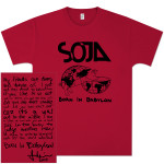 SOJA - Born In Babylon Cover T-Shirt