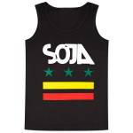 SOJA - Black Stars & Bars Men's Tank
